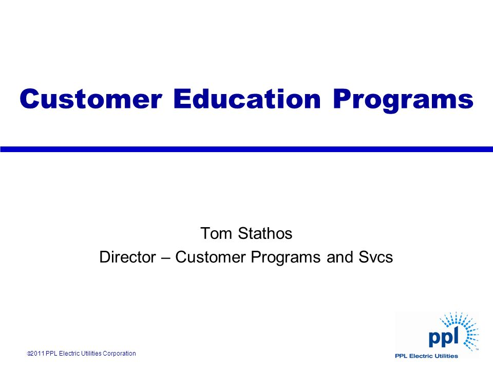 Customer Education Programs