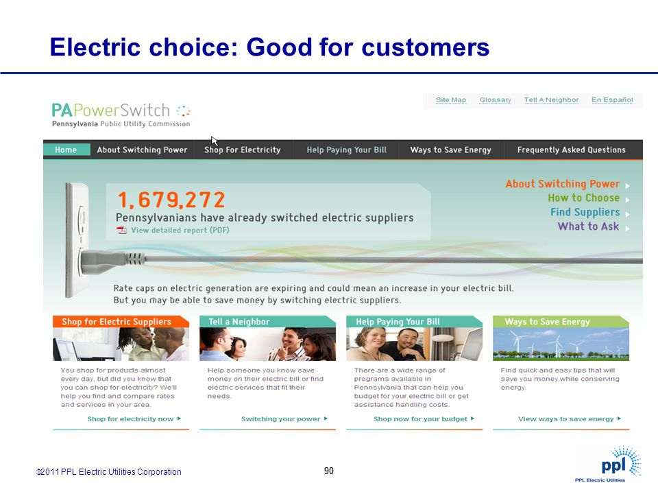 Electric choice: Good for customers