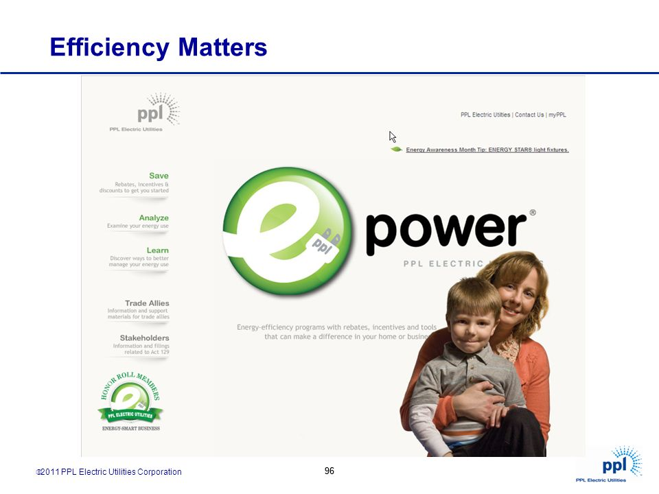 Efficiency Matters 96