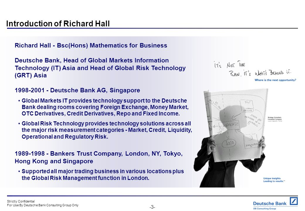 Introduction of Richard Hall