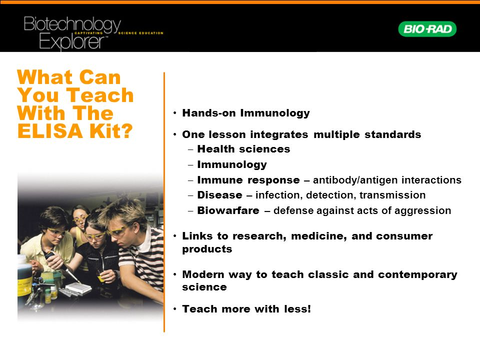 What Can You Teach With The ELISA Kit