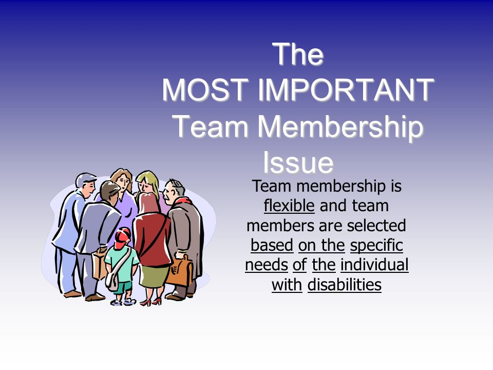 The MOST IMPORTANT Team Membership Issue