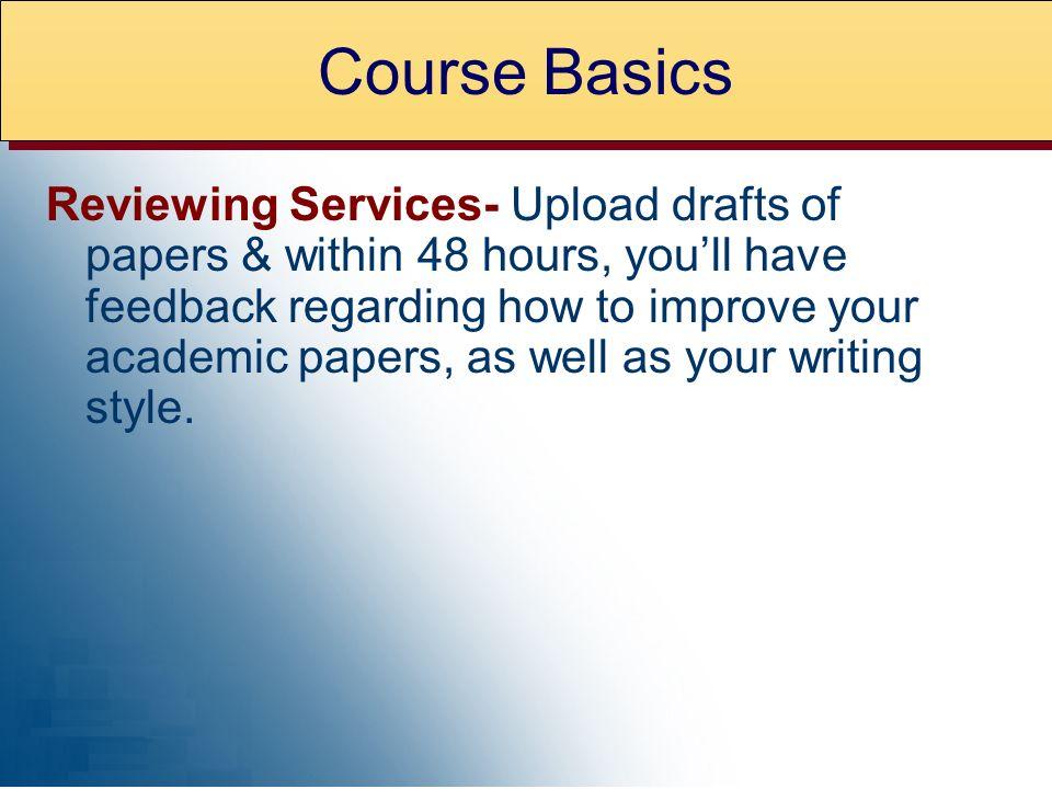 Course Basics