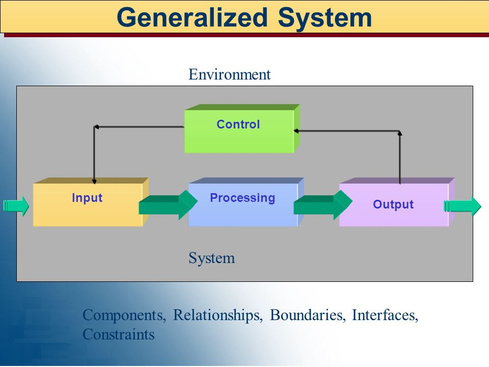 Generalized System Environment System
