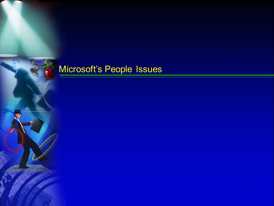 Microsoft's People Issues