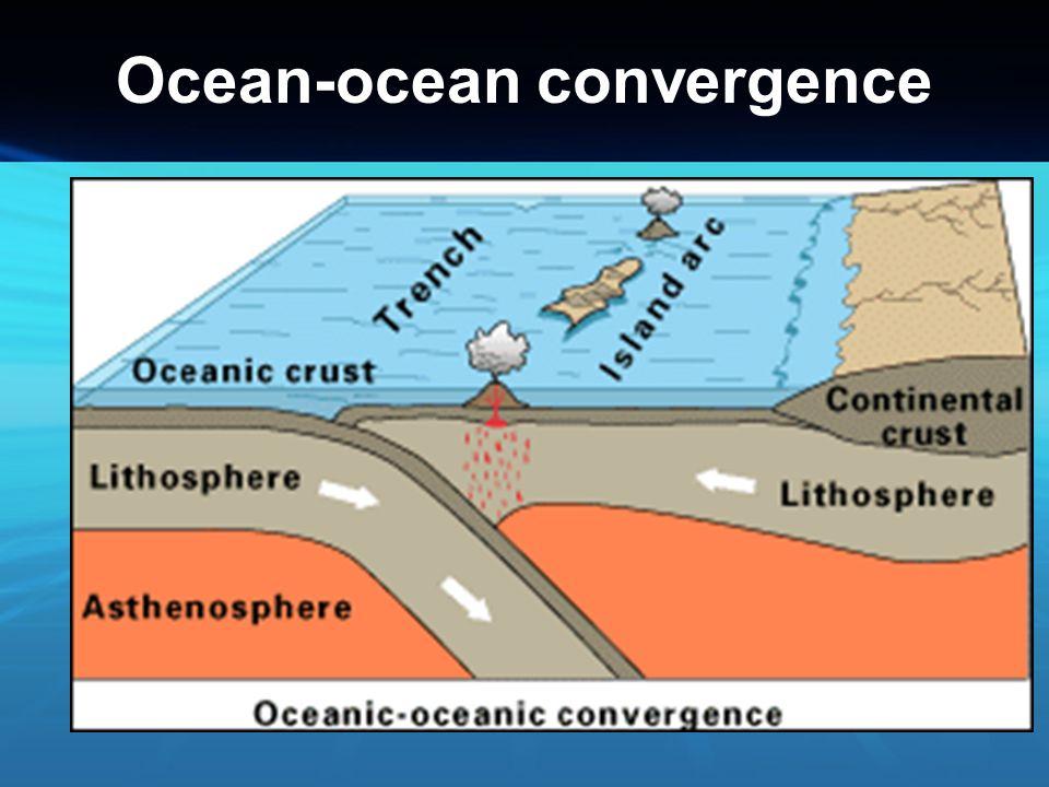 Ocean-ocean convergence
