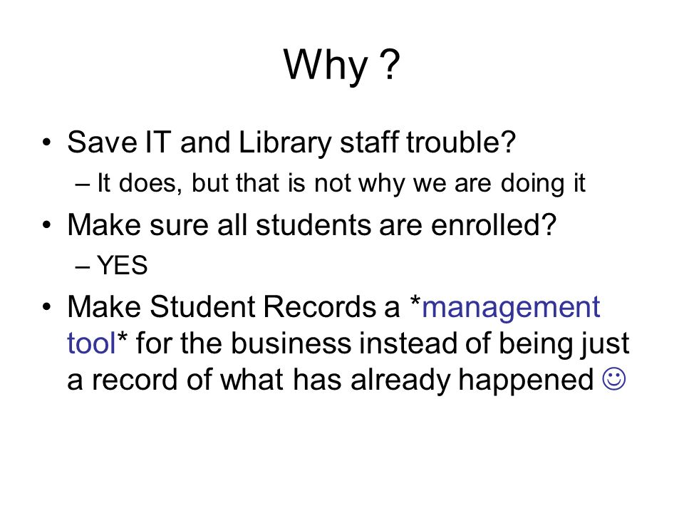 Why Save IT and Library staff trouble