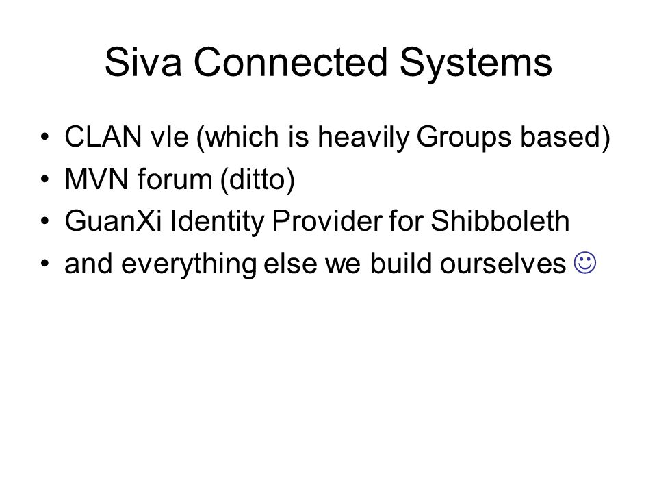 Siva Connected Systems
