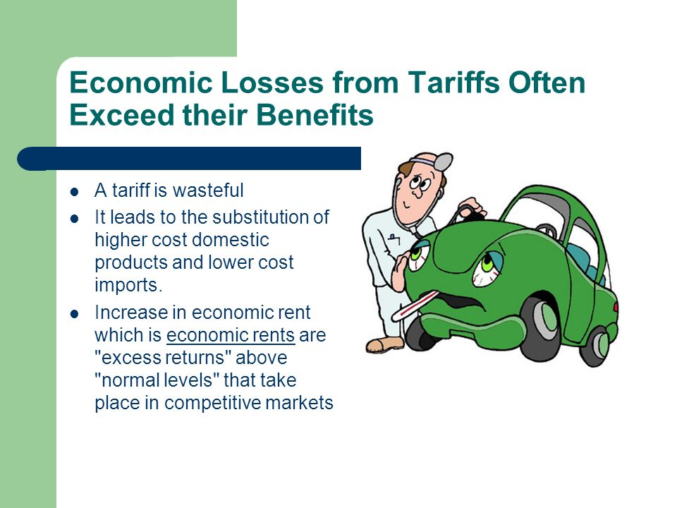 Economic Losses from Tariffs Often Exceed their Benefits