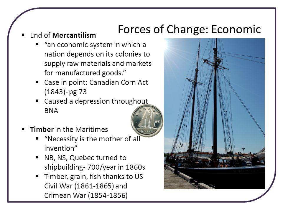 Forces of Change: Economic