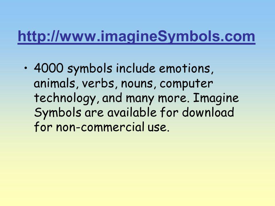 http://www.imagineSymbols.com