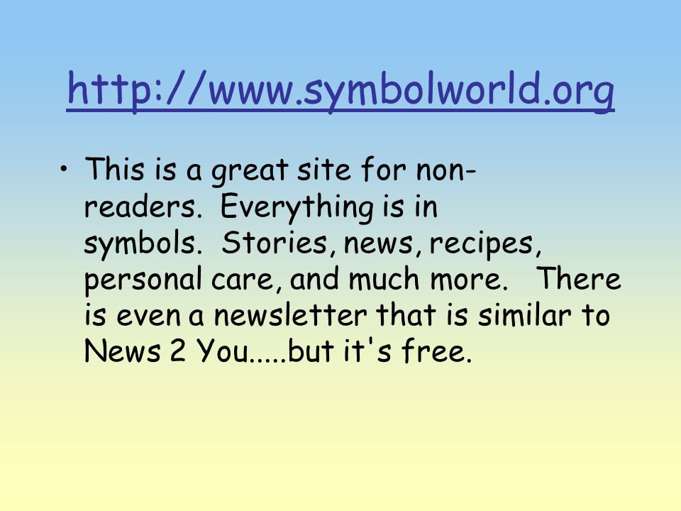 http://www.symbolworld.org