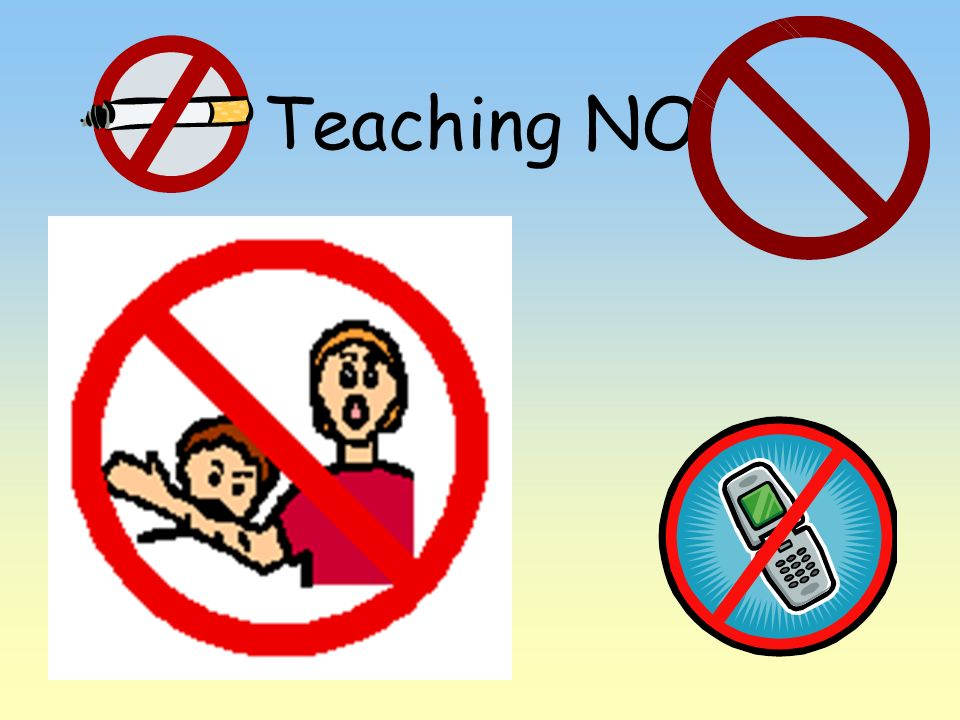 Teaching NO