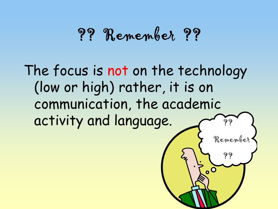 communication/the academic activity/language