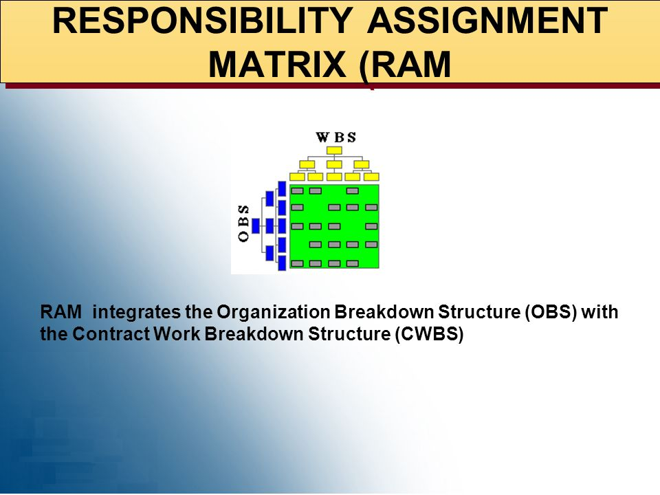 RESPONSIBILITY ASSIGNMENT MATRIX (RAM