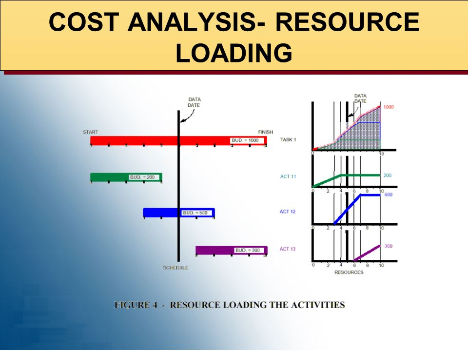 COST ANALYSIS- RESOURCE LOADING