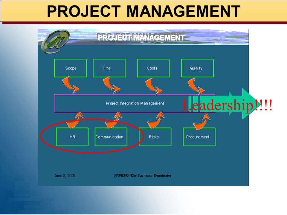 PROJECT MANAGEMENT Leadership!!!!