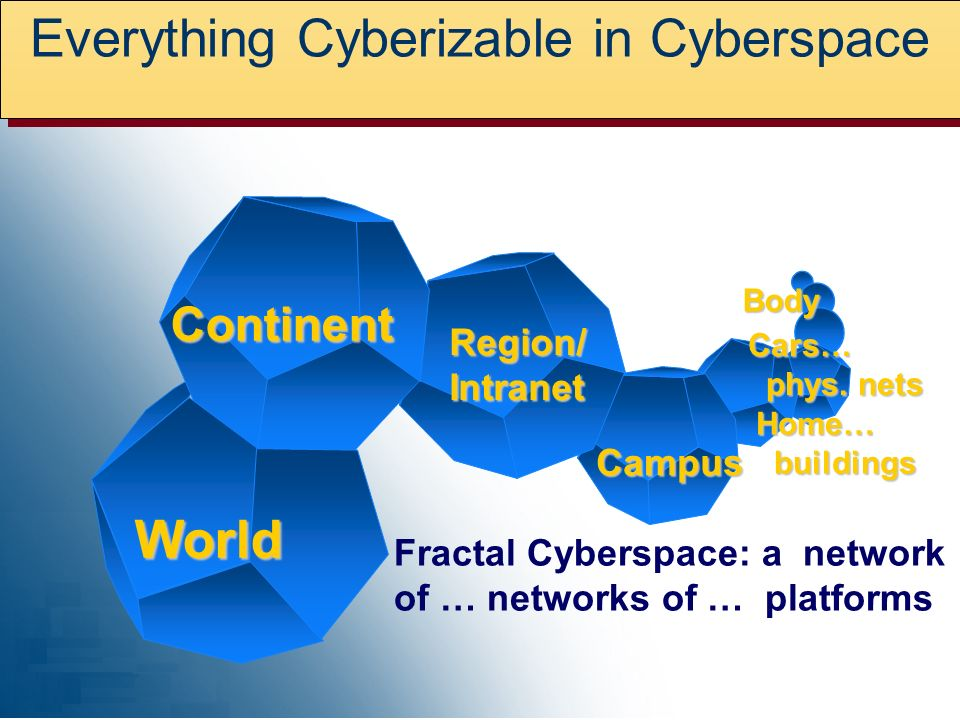 Everything Cyberizable in Cyberspace