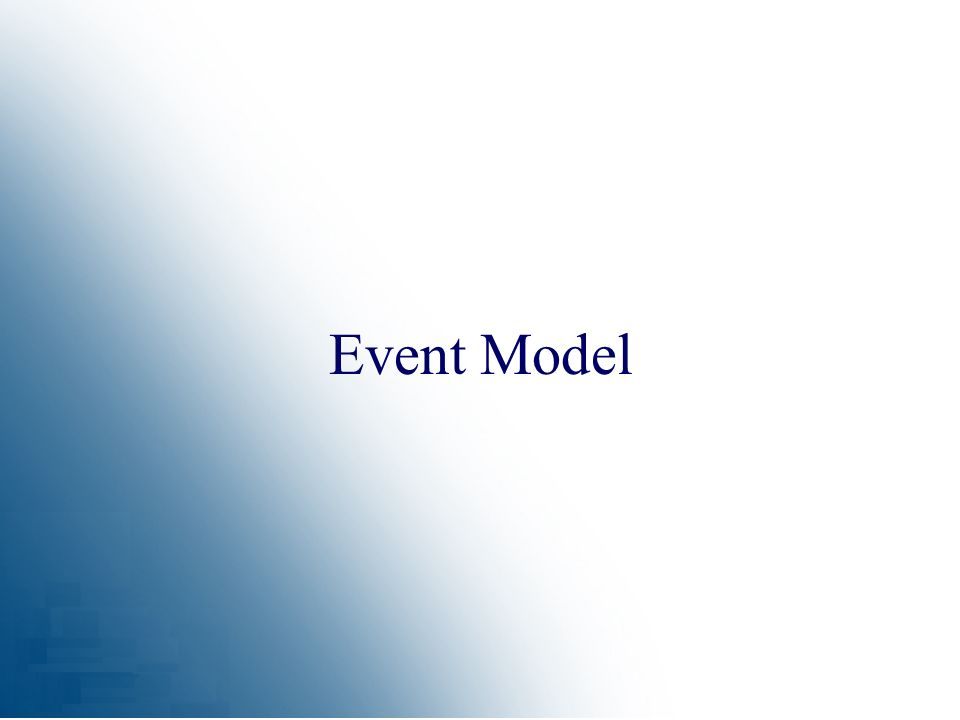 Event Model