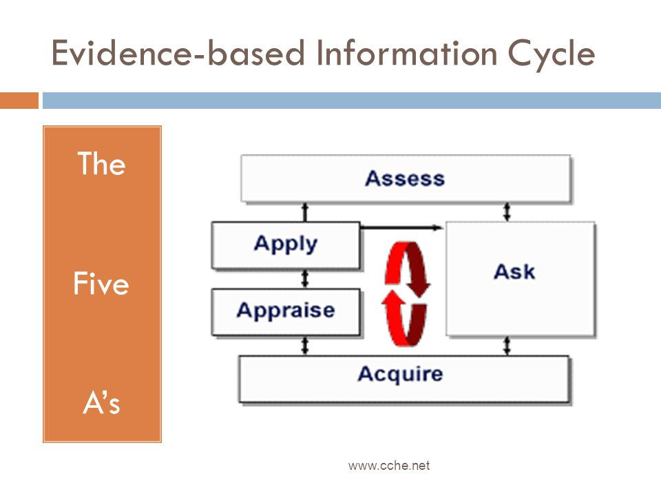 Evidence-based Information Cycle