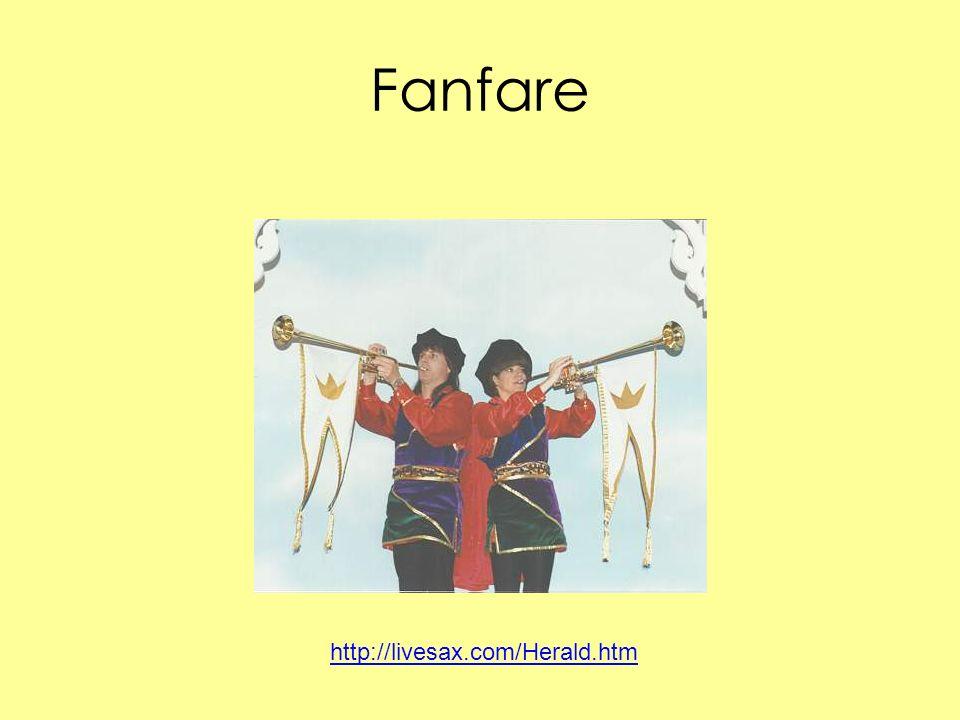 Fanfare http://livesax.com/Herald.htm