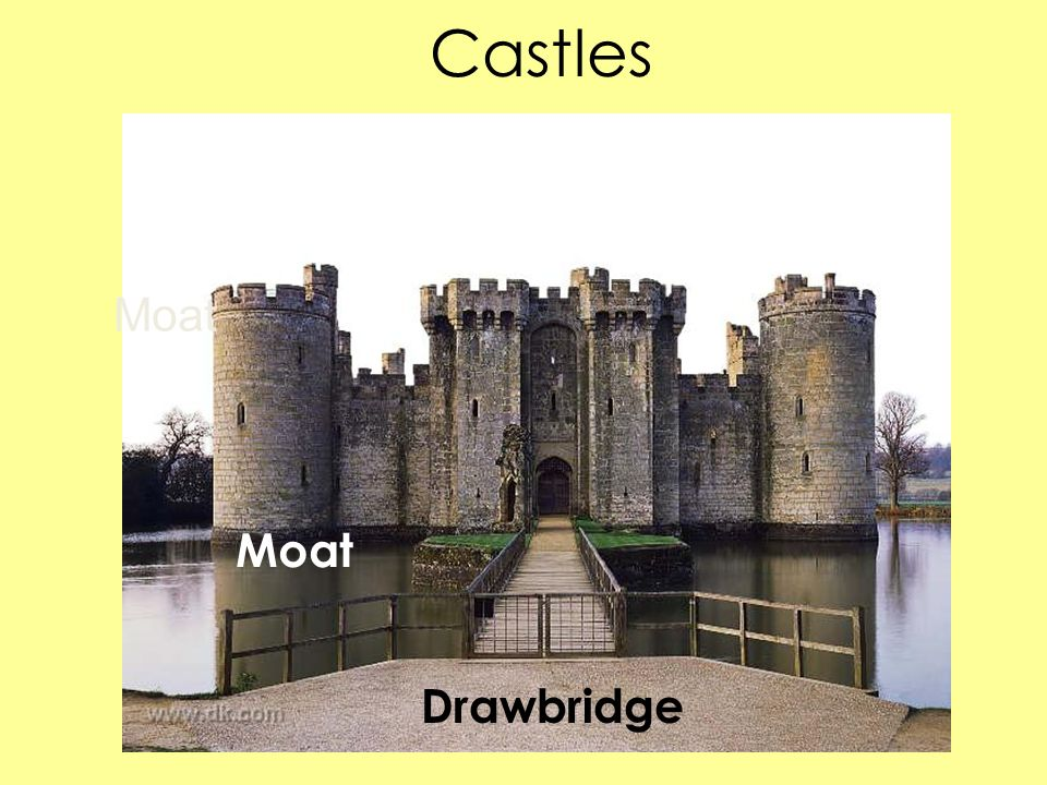 Castles Moat Moat Drawbridge