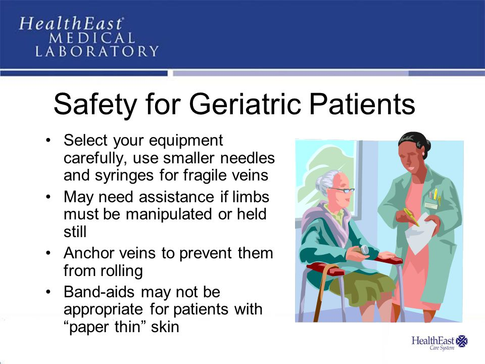 Safety for Geriatric Patients