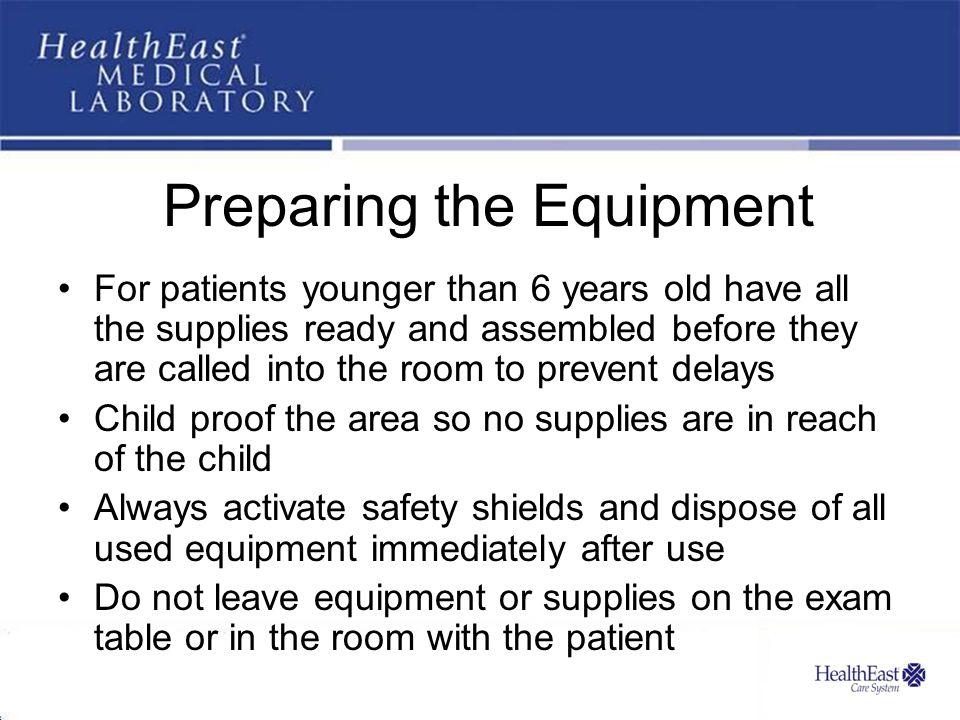 Preparing the Equipment