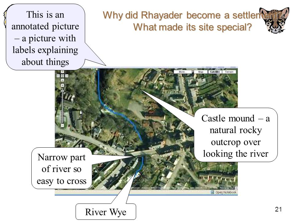 Why did Rhayader become a settlement What made its site special