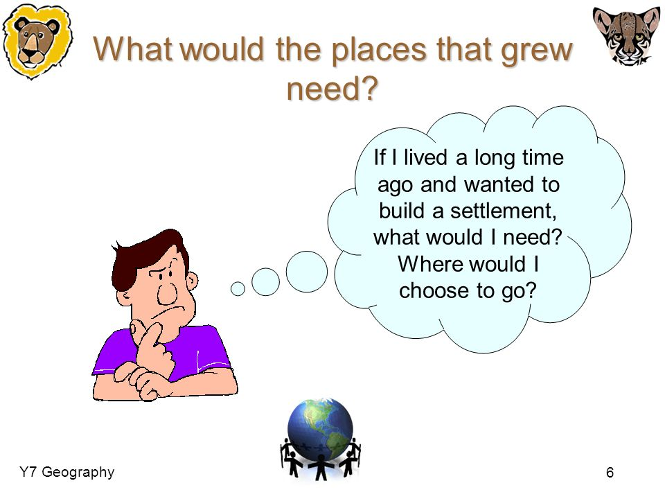What would the places that grew need