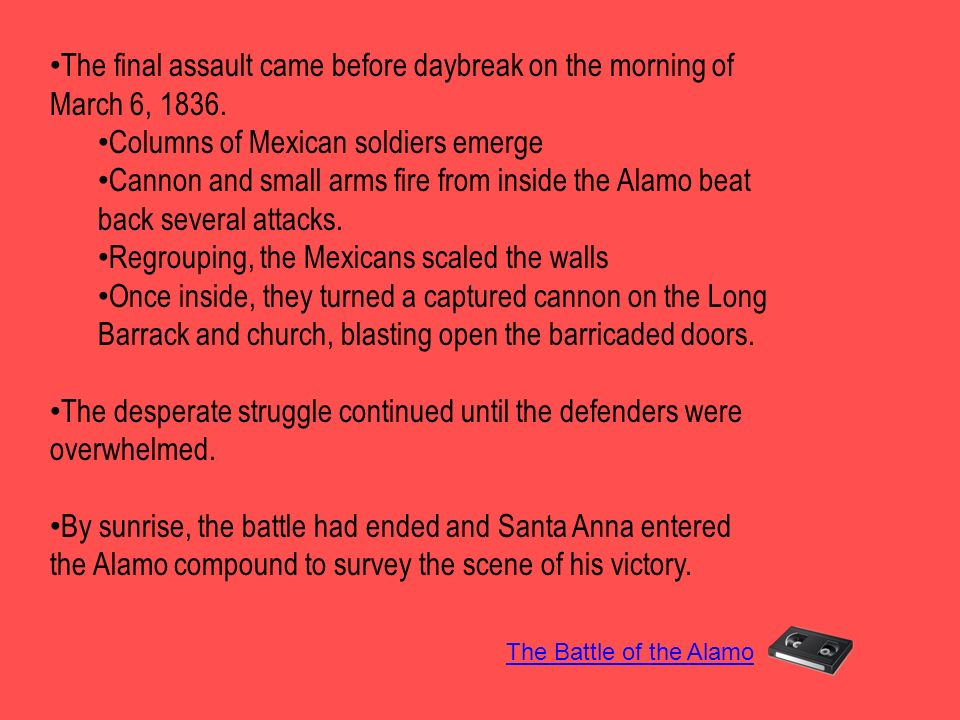 Columns of Mexican soldiers emerge