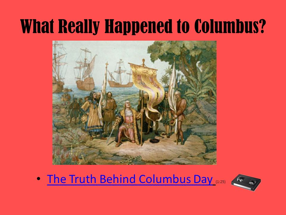 What Really Happened to Columbus