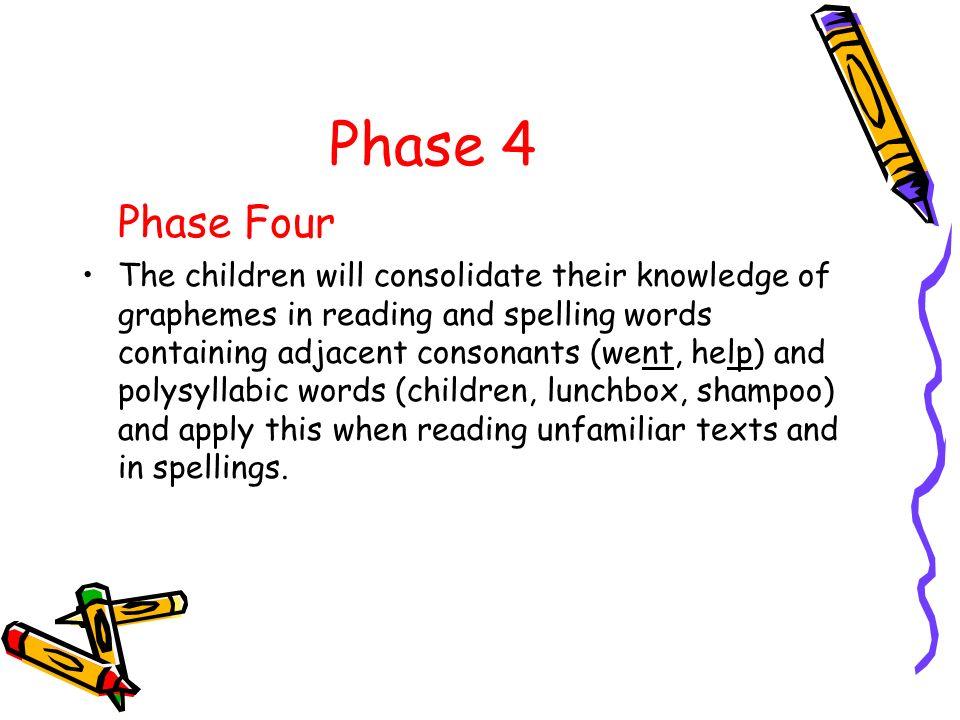 Phase 4 Phase Four.