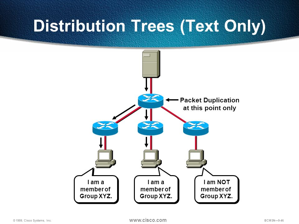 Distribution Trees (Text Only)