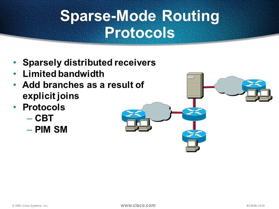 Sparse-Mode Routing Protocols