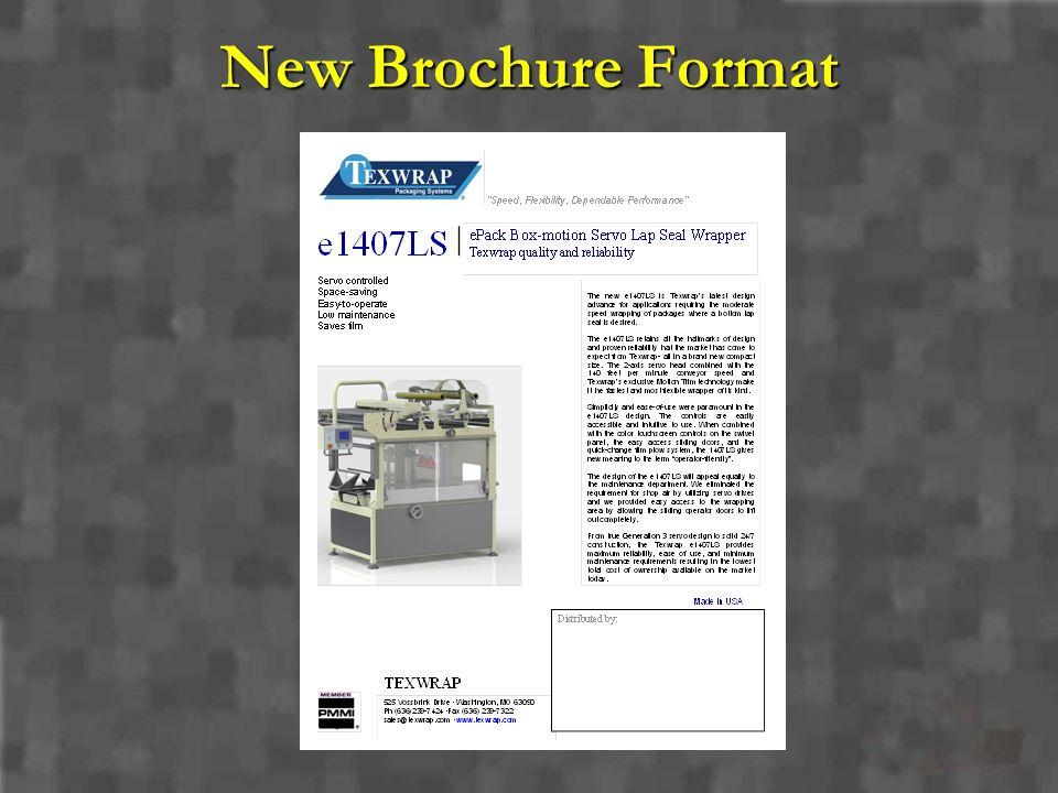 New Brochure Format