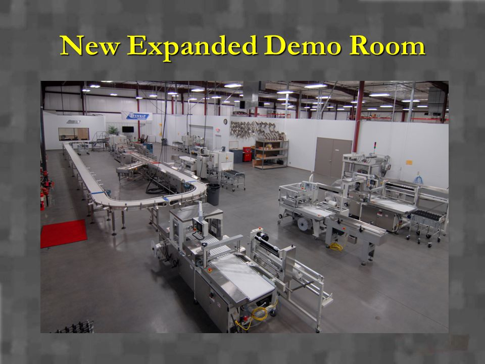 New Expanded Demo Room