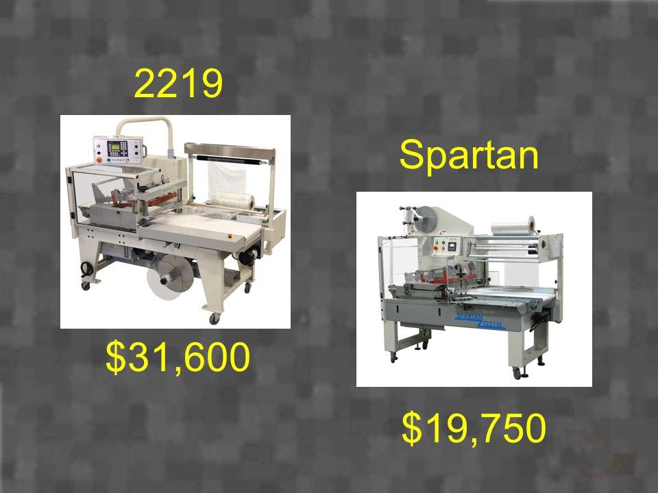 2219 Spartan $31,600 $19,750