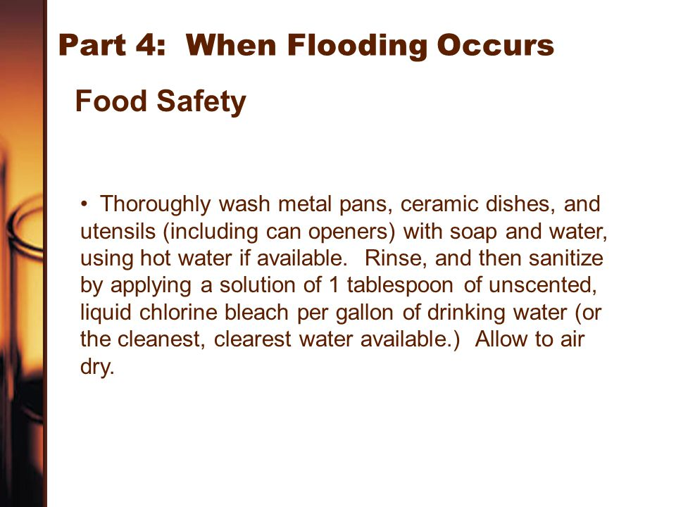 Part 4: When Flooding Occurs