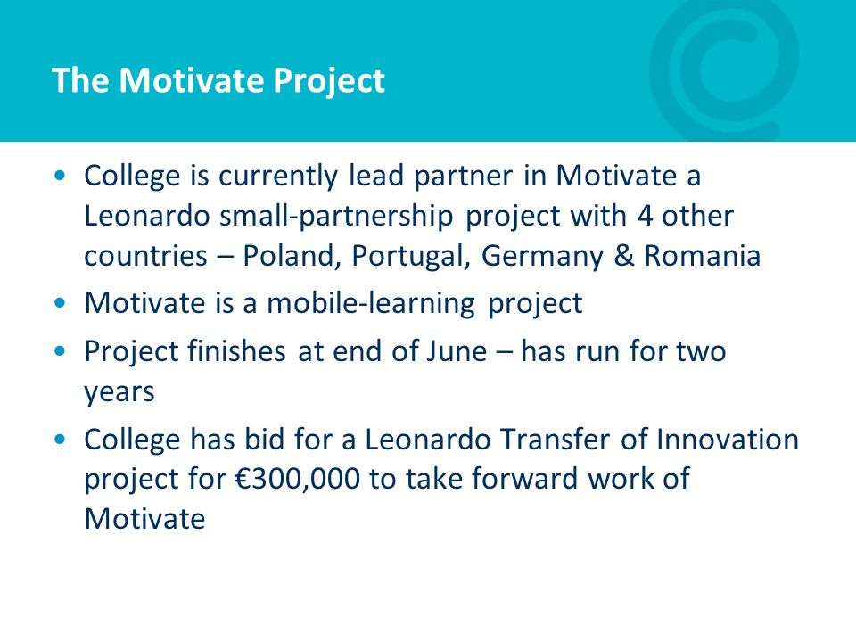 The Motivate Project