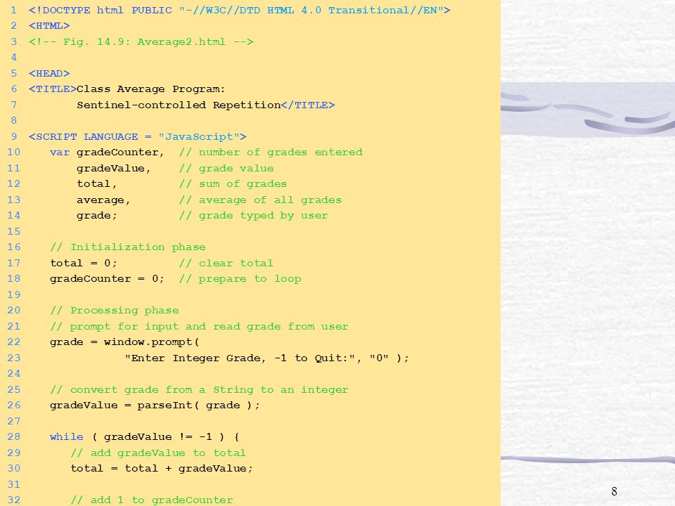 1 <!DOCTYPE html PUBLIC -//W3C//DTD HTML 4.0 Transitional//EN >