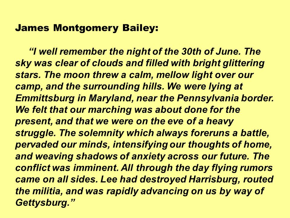 James Montgomery Bailey: