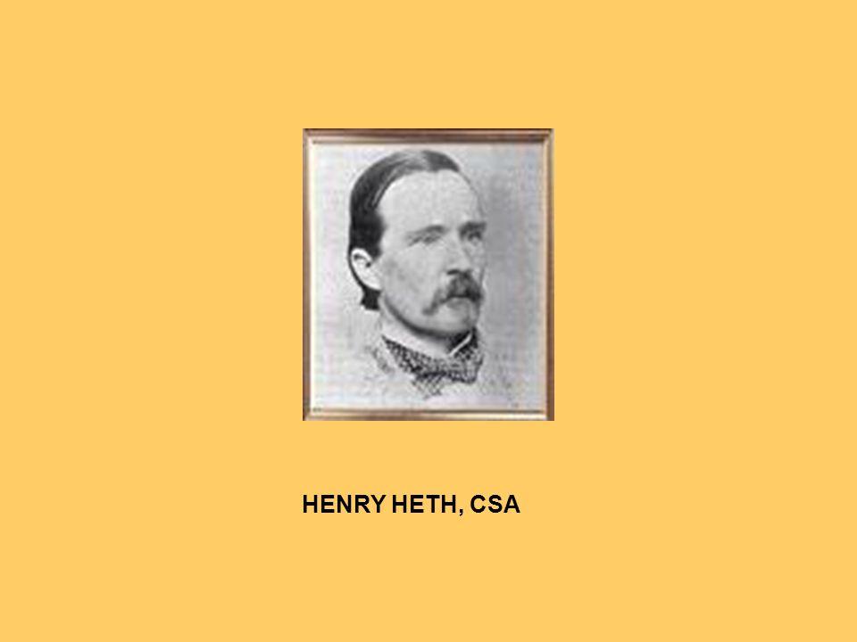 HENRY HETH, CSA