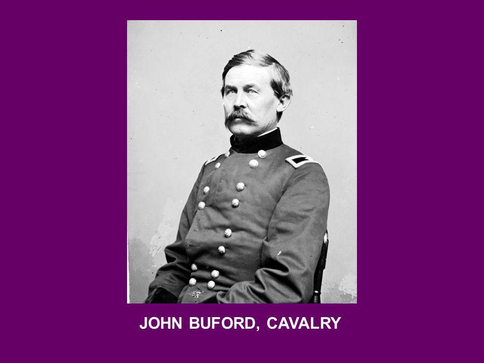 JOHN BUFORD, CAVALRY