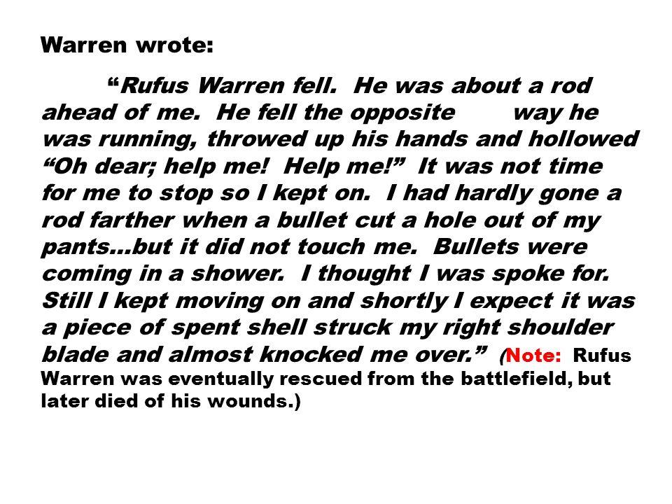 Warren wrote:
