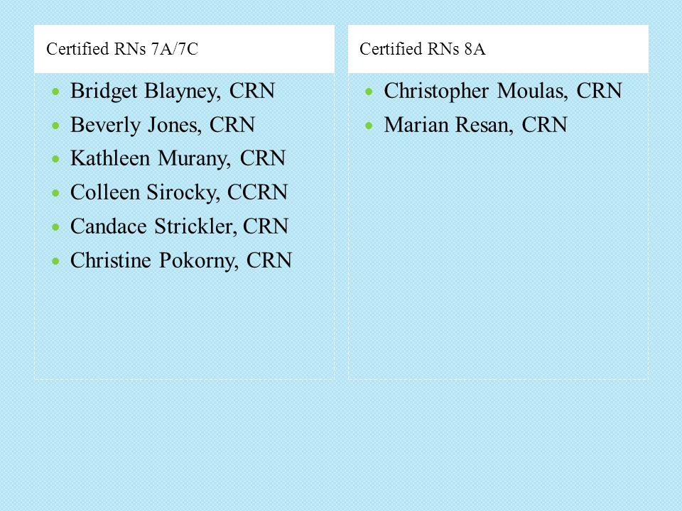 Christopher Moulas, CRN Marian Resan, CRN