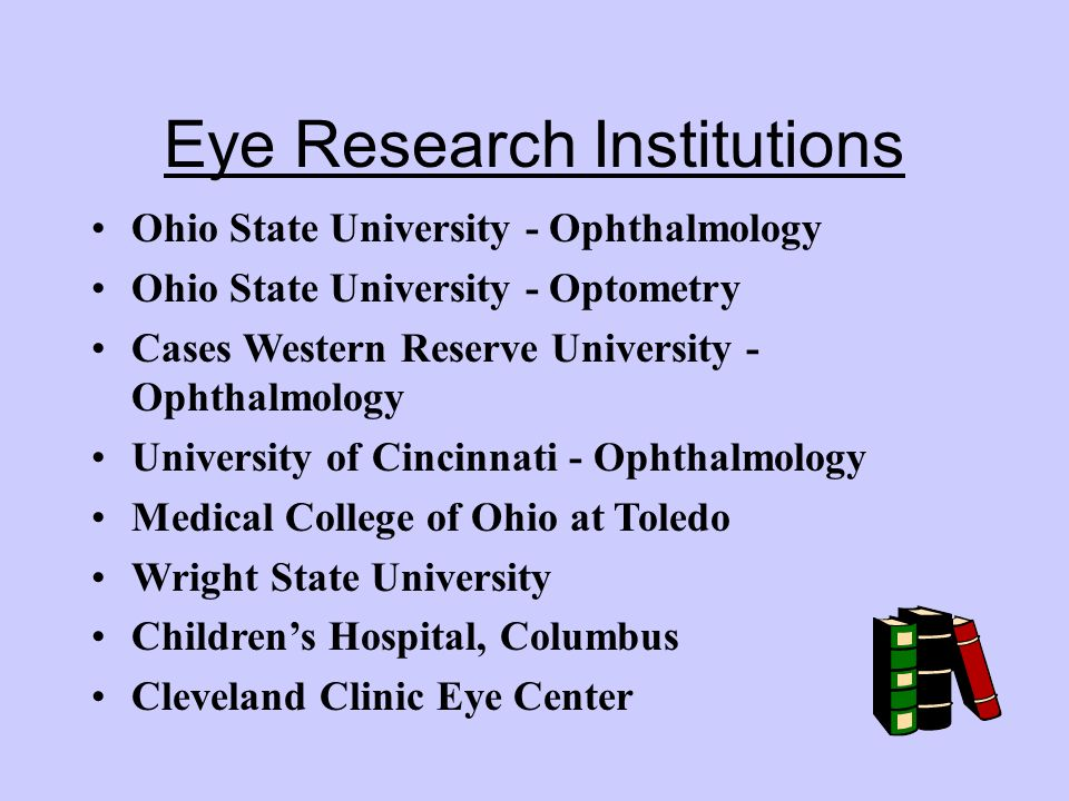 Eye Research Institutions