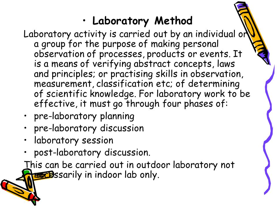 Laboratory Method