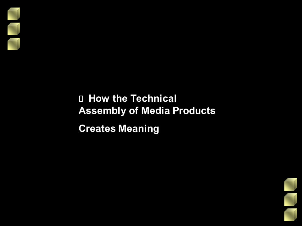 ¸ How the Technical Assembly of Media Products