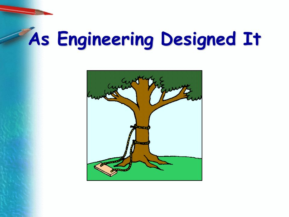 As Engineering Designed It